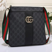 shosouvenir  Gucci Women Leather Zipper Shopping Crossbody Shoulder Bag Satchel