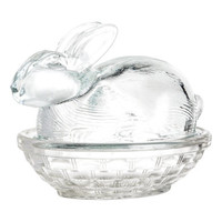 Glass Dish with Lid - from H&M