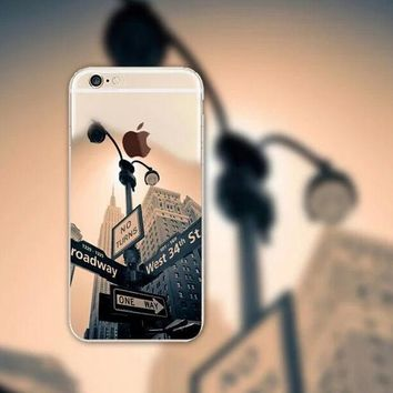 Streetlamp iPhone 5 5S iPhone 6 6S Plus Case + Gift Box-126-170928