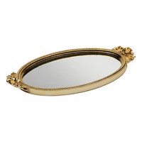 Taymor Gold Antique Rose Mirror Tray | zulily