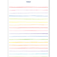 Multi Stripe Notepad