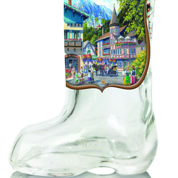 German Summer Beer Boot Shot Glass