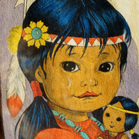 1950's Crying Indian Children