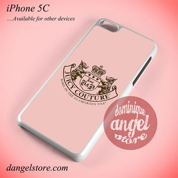 Pink Juicy Couture Phone case for iPhone 5C and another iPhone devices