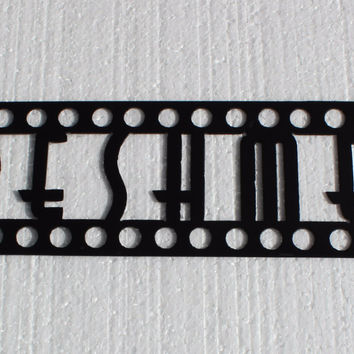 Refreshments Word Sign Home Theater Decor Metal Wall Art