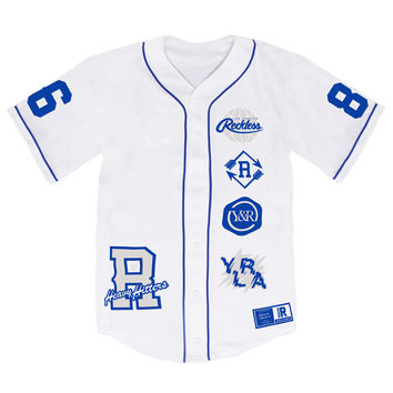 HOMEPLATE - BASEBALL JERSEY - WHITE