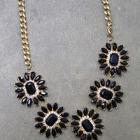 Black Jewel Necklace