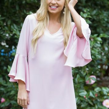 It's A Tea Party Dress in Blush | Monday Dress Boutique