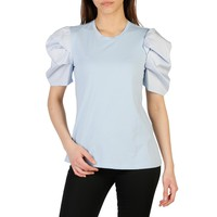 Imperial Blue Sleeves Short T-Shirt