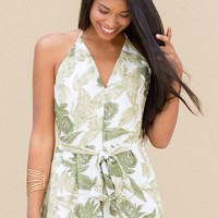 Tropic Like It's Hot Romper | Monday Dress