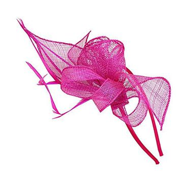 Vintage Mesh Net Wool Felt Flower Women Fascinator Hat Hair Clip
