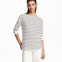 H&M Long-sleeved Jersey Top $17.99