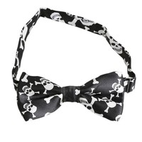 11 Color Patterns Fashion Skull Bow Tie For Men