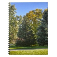 Bright Sunny Day In The Park Notebook