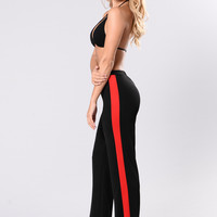 Him Pant - Black/Red