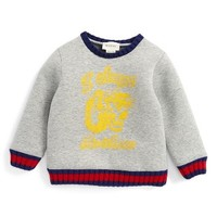 Gucci Web Tiger Graphic Sweatshirt (Baby Boys) | Nordstrom