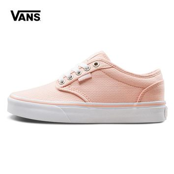 Original New Arrival Vans Womens Active Atwood Low-top Skateboarding Shoes Sneakers Canvas Comfortable Sport Outdoor VN000K0FR6A