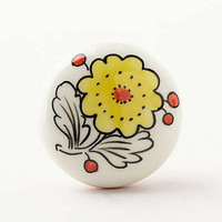 Anthropologie - Color Flora Knob
