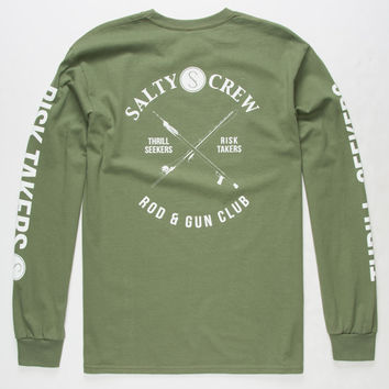 SALTY CREW Rod & Gun Club Mens T-Shirt | L/S + Baseball Tees