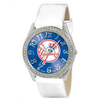 New York Yankees MLB Ladies Glitz Series Watch