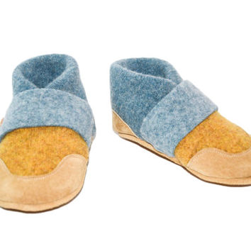 Baby Soft Wool Shoes, Wool Baby Slippers