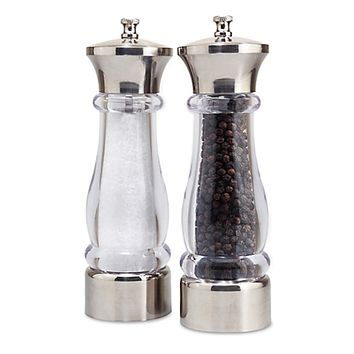 "Sophia ""Mess-Free"" Pepper & Salt Mills (Set of 2)"