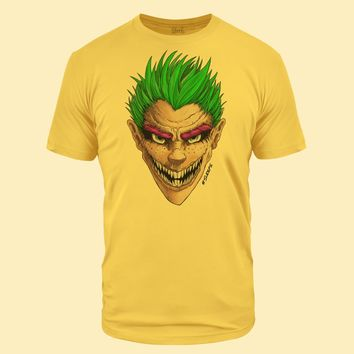 Green Grin Banana Cream Tri-Blend T-Shirt