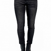 14C8008-10-4 Classic Black Denim Jeans Apparel Jeans BLACK Bare Feet Shoes