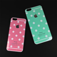 Polkadot Shimmer iPhone 6/6s PLUS Case