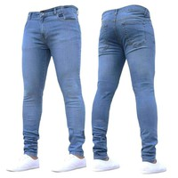 Mens Straight Denim Jeans