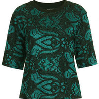 Paisley Jacquard Tee - New In This Week  - New In
