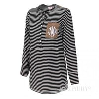 Monogrammed Layering Tunic | Marleylilly