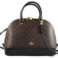 Coach Signature Sierra Satchel Crossbody Bag Purse Handbag