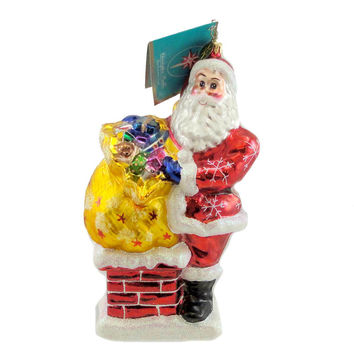 Christopher Radko Mr. Big Stuff Glass Ornament