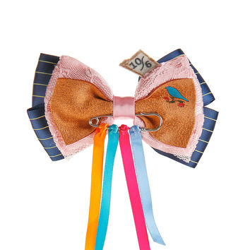 Disney Alice Through The Looking Mad Hatter Cosplay Hair Bow