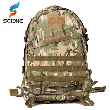 2018 Hot Outdoor Camping Hiking Hunting Camouflage Army Bag Mochila Militar Tactica Military Rucksack Molle Tactical Backpack