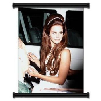 "Lana Del Rey Alternative Artist Fabric Wall Scroll Poster (16"" X 23"") Inches"