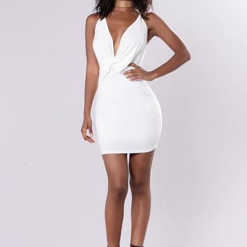 Snatch Dress - Off White