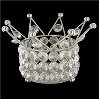 Silver Crown Shape with Clear Crystals | Shop Hobby Lobby