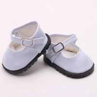 "Doll shoes ,bue sport leisure doll shoes for 18"" inch american girl doll for baby gift TX-11"