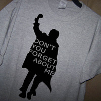 THE BREAKFAST CLUB Don't You Forget About Me T Shirt