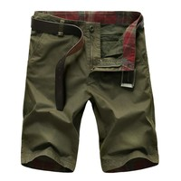 Clothing Straight Men's Shorts 3 Colors Cotton Summer Men's Army Cargo Casual Shorts