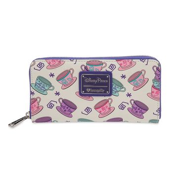 Disney Parks Mad Tea Party Wallet by Loungefly New with Tags