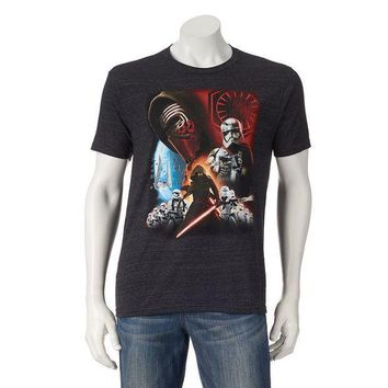 ESB7GX Star Wars: Episode VII The Force Awakens Kylo Ren & Stormtroopers Tee