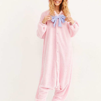 Kigurumi Pink Teddy Costume - Urban Outfitters