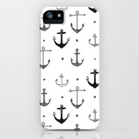 Anchor iPhone & iPod Case by Miriam Sironi