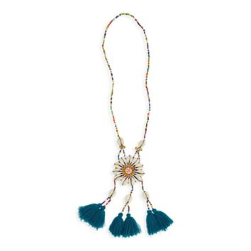 Panacea – Beaded Shell Necklace