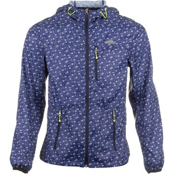 Penfield Chevak Printed Packable Jacket - Men's Navy Floral,