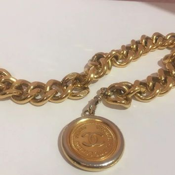 Authentic COCO CHANEL Chain Belt