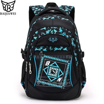 2017 New Arrival Children School Bags High Quality Nylon Backpacks